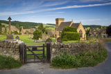 Morning at Cotswolds Village, Snowshill, Gloucestershire, England