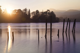 Sunset, Derwent Water, Lake District, Cumbria, UK