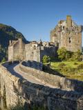 Eilean Donan Castle Along Loch Duich, Dornie, Highlands, Scotland