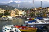 Malcesine, Harbor, Lake Garda, Lombardy, Italy