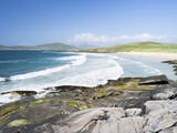 Borve Beach on South Harris in Stormy Weather, Scotland