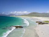 Seilebost Beach on South Harris, Sound of Transay. Scotland