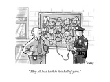 """""""""""They all lead back to this ball of yarn."""""""" - New Yorker Cartoon"""