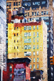 Manhattan Architecture II - In the Style of Oil Painting