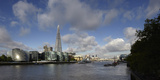 The Shard with River Thames, London, Uk