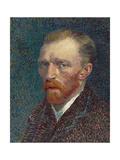 Self-Portrait, 1887 (Oil on Board)