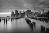 Usa, New York, New York City, Lower Manhattan Skyline