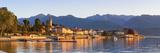 The Idyllic Lakeside Village of Baveno Illuminated at Sunrise, Lake Maggiore, Piedmont, Italy