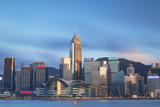 View of Convention Centre and Hong Kong Island Skyline, Hong Kong, China