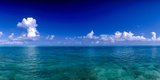 Clouds over Pacific Ocean, Bora Bora, Leeward Islands, Society Islands, French Polynesia