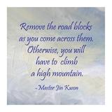 Remove the Road Blocks square