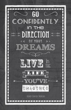 The Direction of Your Dreams
