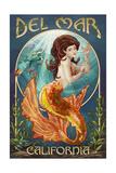 Del Mar, California - Mermaid