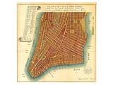 Bridges Map of New York 1807