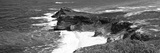 Awesome South Africa Collection Panoramic - Cape of Good Hope B&W
