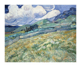 Landscape from Saint-Remy, 1889