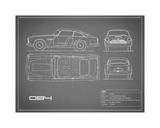 Aston DB4 -Grey