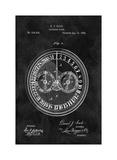 Calendar Clock, 1885-Black