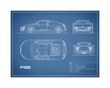 Audi R8 V10-Blue