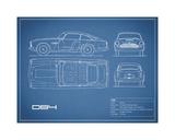 Aston DB4 -Blue