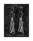Gun Lock Recoil, 1884-Chalkboa