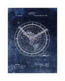 Time Chart, 1893- Blue