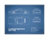 Porsche Carrera GTS-Blue