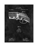 Three Barreled Gun, 1883-Black