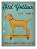 Golden Dog Skateboard