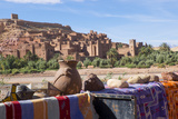 Morocco, Ouarzazate, Ait Benhaddou Cityscape