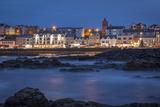 Twilight over Portstewart, County Antrim, Northern Ireland, Uk