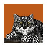 Snow Leopard Orange