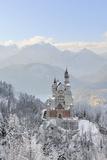 Germany, Bavaria, AllgSu, Neuschwanstein Castle