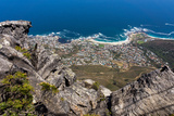 South Africa, Cape Town, View from the Table Mountain