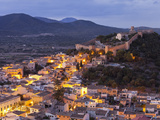 Town View of Capdepera, Evening, Majorca, Spain