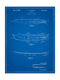 Surfboard 1965 Patent