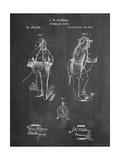 Firefighter Suit 1876 Patent Print