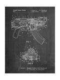 Ak-47 Bolt Locking Patent Print