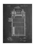 Edison Alkaline Battery Art