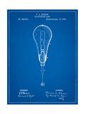Edison Light Bulb 1890 Patent