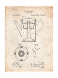 Vintage Coffe Pot Patent