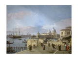 Entrance to the Grand Canal from the Molo, Venice, 1742-44