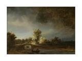 Landscape with a Stone Bridge, 1638