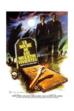 Night of the Living Dead, (aka La Noche De Los Muertos Vivientes), Spanish Poster Art, 1968