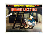 Donald's Lucky Day, Title Card, Donald Duck, 1939