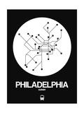 Philadelphia White Subway Map