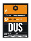 DUS Dusseldorf Luggage Tag II