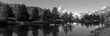 Matterhorn Reflecting into Grindjisee Lake, Zermatt, Valais Canton, Switzerland