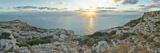 Sunset over Mediterranean Sea, Dingli, Malta