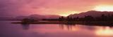 Lake at Sunset, Lake Tekapo, South Island, Canterbury, New Zealand